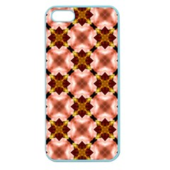Cute Pretty Elegant Pattern Apple Seamless Iphone 5 Case (color) by creativemom
