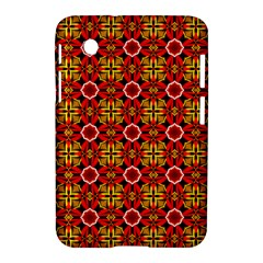 Cute Pretty Elegant Pattern Samsung Galaxy Tab 2 (7 ) P3100 Hardshell Case  by creativemom