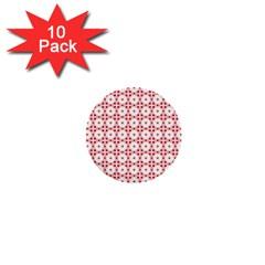 Cute Pretty Elegant Pattern 1  Mini Button (10 Pack) by creativemom