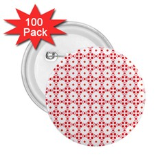 Cute Pretty Elegant Pattern 2 25  Button (100 Pack) by creativemom