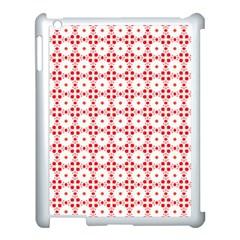 Cute Pretty Elegant Pattern Apple Ipad 3/4 Case (white) by creativemom