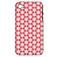 Cute Pretty Elegant Pattern Apple Iphone 4/4s Hardshell Case (pc+silicone) by creativemom