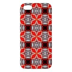 Cute Pretty Elegant Pattern Apple Iphone 5 Premium Hardshell Case by creativemom
