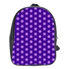 Cute Pretty Elegant Pattern School Bag (large) by creativemom
