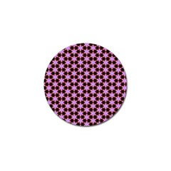 Cute Pretty Elegant Pattern Golf Ball Marker 4 Pack by creativemom