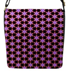 Cute Pretty Elegant Pattern Flap Closure Messenger Bag (small) by creativemom