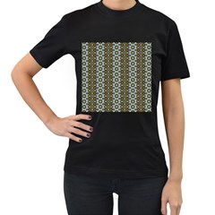 Cute Pretty Elegant Pattern Women s T Shirt (black)
