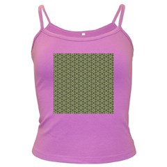 Cute Pretty Elegant Pattern Spaghetti Top (colored) by creativemom