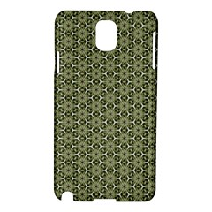 Cute Pretty Elegant Pattern Samsung Galaxy Note 3 N9005 Hardshell Case by creativemom