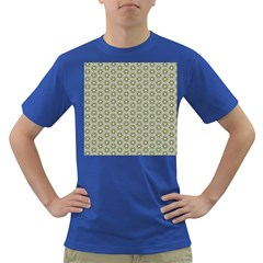 Cute Pretty Elegant Pattern Men s T Shirt (colored) by creativemom
