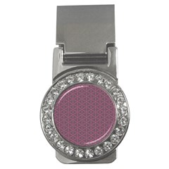Cute Pretty Elegant Pattern Money Clip (CZ) by creativemom