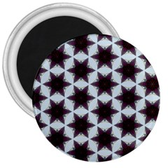 Cute Pretty Elegant Pattern 3  Button Magnet