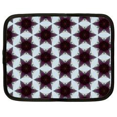 Cute Pretty Elegant Pattern Netbook Sleeve (large) by creativemom