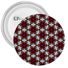 Cute Pretty Elegant Pattern 3  Button by creativemom