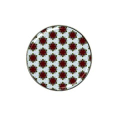 Cute Pretty Elegant Pattern Golf Ball Marker 10 Pack (for Hat Clip) by creativemom