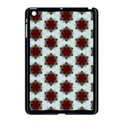 Cute Pretty Elegant Pattern Apple Ipad Mini Case (black) by creativemom