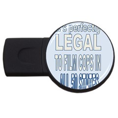 Picture7 4gb Usb Flash Drive (round) by AmIFree2Go