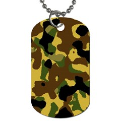 Camo Pattern  Dog Tag (Two-sided)  by Colorfulart23
