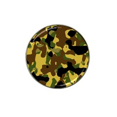 Camo Pattern  Golf Ball Marker (for Hat Clip) by Colorfulart23