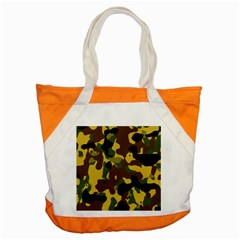 Camo Pattern  Accent Tote Bag by Colorfulart23