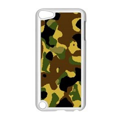 Camo Pattern  Apple Ipod Touch 5 Case (white) by Colorfulart23