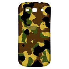 Camo Pattern  Samsung Galaxy S3 S Iii Classic Hardshell Back Case by Colorfulart23