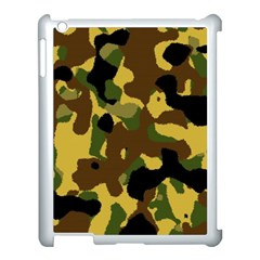 Camo Pattern  Apple iPad 3/4 Case (White) by Colorfulart23