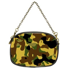 Camo Pattern  Chain Purse (two Sided)  by Colorfulart23
