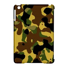 Camo Pattern  Apple iPad Mini Hardshell Case (Compatible with Smart Cover) by Colorfulart23