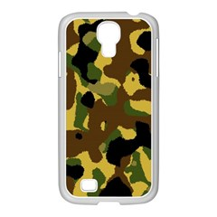 Camo Pattern  Samsung GALAXY S4 I9500/ I9505 Case (White) by Colorfulart23