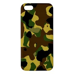 Camo Pattern  Iphone 5s Premium Hardshell Case
