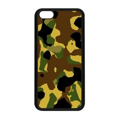 Camo Pattern  Apple Iphone 5c Seamless Case (black) by Colorfulart23