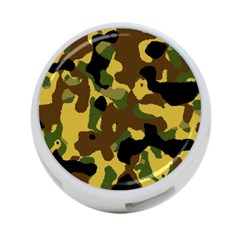 Camo Pattern  4 Port Usb Hub (one Side) by Colorfulart23