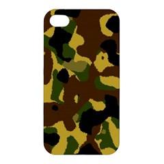 Camo Pattern  Apple Iphone 4/4s Premium Hardshell Case by Colorfulart23