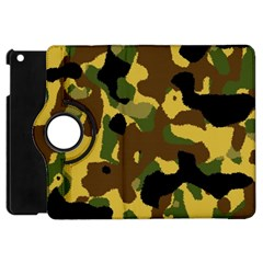 Camo Pattern  Apple Ipad Mini Flip 360 Case by Colorfulart23