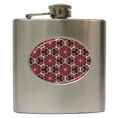 Cute Pretty Elegant Pattern Hip Flask by creativemom