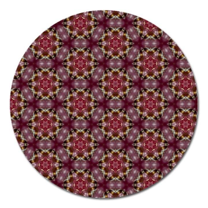 Cute Pretty Elegant Pattern Magnet 5  (Round)