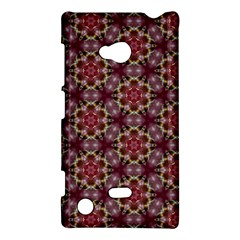 Cute Pretty Elegant Pattern Nokia Lumia 720 Hardshell Case by creativemom