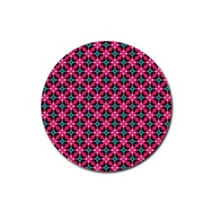 Cute Pretty Elegant Pattern Drink Coaster (round) by creativemom