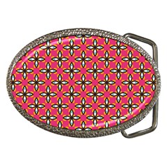 Cute Pretty Elegant Pattern Belt Buckle (oval)