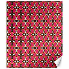 Cute Pretty Elegant Pattern Canvas 8  X 10  (unframed) by creativemom