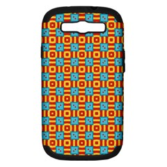 Cute Pretty Elegant Pattern Samsung Galaxy S Iii Hardshell Case (pc+silicone) by creativemom