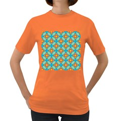 Cute Pretty Elegant Pattern Women s T Shirt (colored) by creativemom