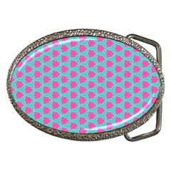 Cute Pretty Elegant Pattern Belt Buckle (oval) by creativemom