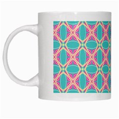 Cute Pretty Elegant Pattern White Coffee Mug by creativemom