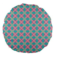 Cute Pretty Elegant Pattern 18  Premium Flano Round Cushion  by creativemom