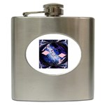 Aces Diamonds - Hip Flask (6 oz)