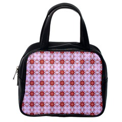 Cute Pretty Elegant Pattern Classic Handbag (one Side) by creativemom