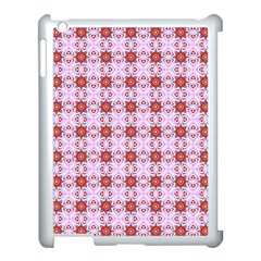 Cute Pretty Elegant Pattern Apple Ipad 3/4 Case (white) by creativemom