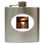 Floating Aces - Hip Flask (6 oz)